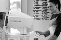Professionelle Augenprüfung