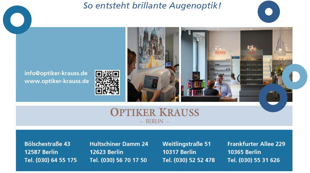 optiker-krauss in berlin I vison care I augenoptiker